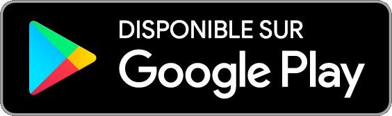 Badge téléchargement de l'application android